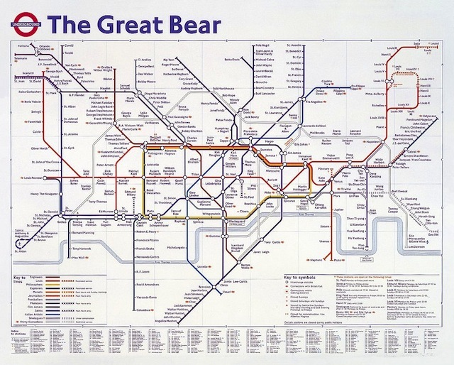 The Great Bear by Simon Patterson.