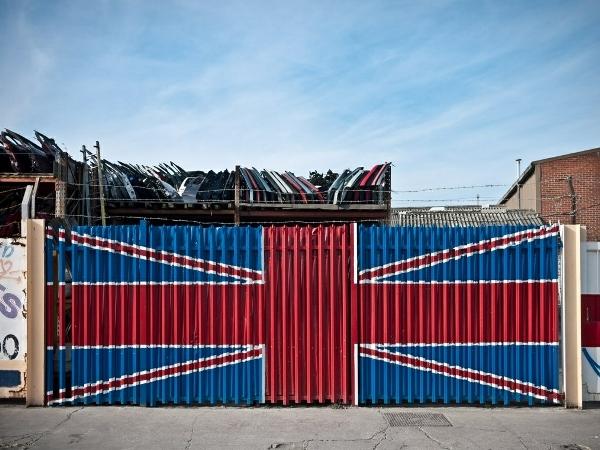 Scrapyard Union Jack, by Magic Pea