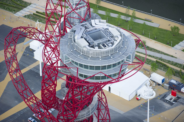 Top of the ArcelorMittal Orbit