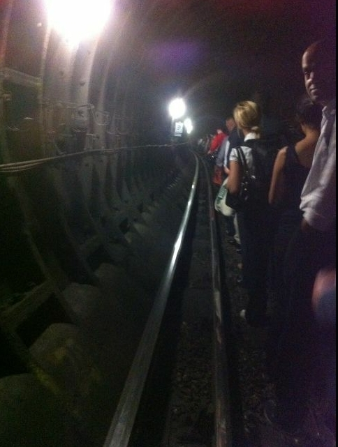 Diamond Jubilee Train Behind Last Night's Breakdown