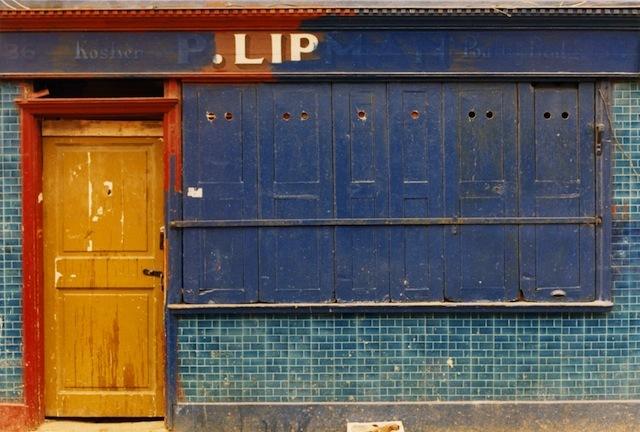 Lipman kosher butcher's, Hessel St by Alan Dein