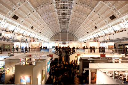 London Art Fair, Business Design Centre.