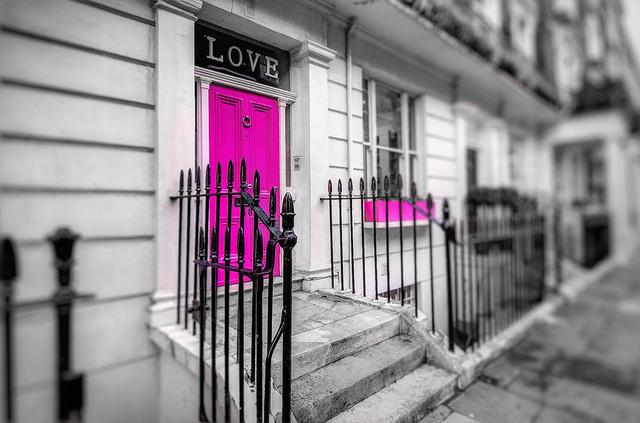 Chelsea in pink, by Gareth L Evans