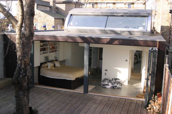 Peckham House - view into the rear