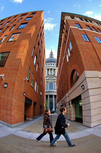 A squeezed St Paul's, by junket