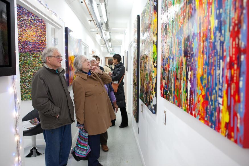 Wimbledon Art Studios – Open Studios Art Show