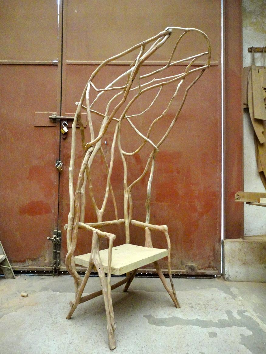 Valentina Gonzalez Wohlers, Wild Bodghed Chair