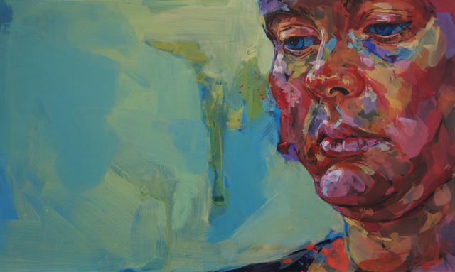 Rebecca Molloy, Woman Looking Down