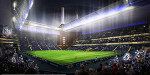 How Chelsea's Battersea Power Station Stadium Might Have Looked