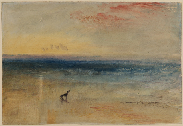 J.M.W. Turner (1775-1851) Dawn after the wreck. © The Courtauld Gallery, London