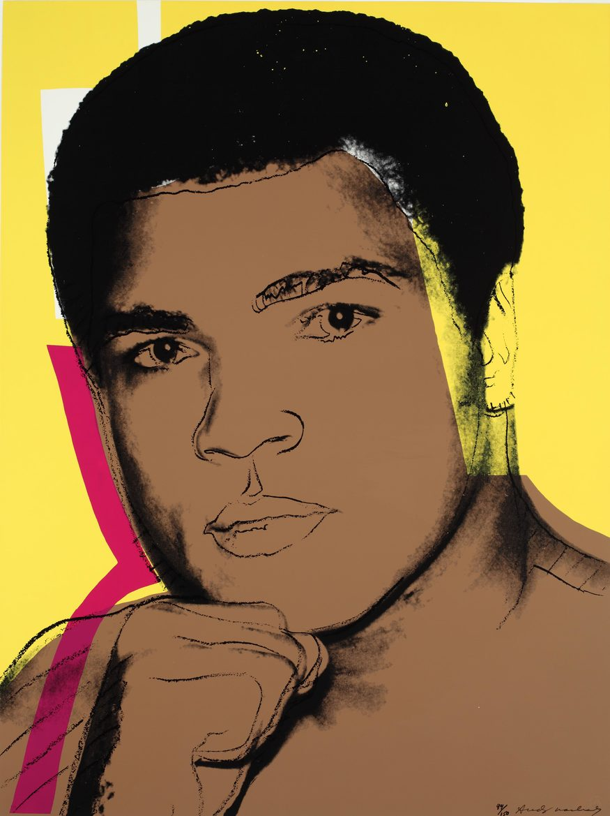 Andy Warhol, Muhammad Ali (1 of 4). Image © The Andy Warhol Foundation for the Visual Arts