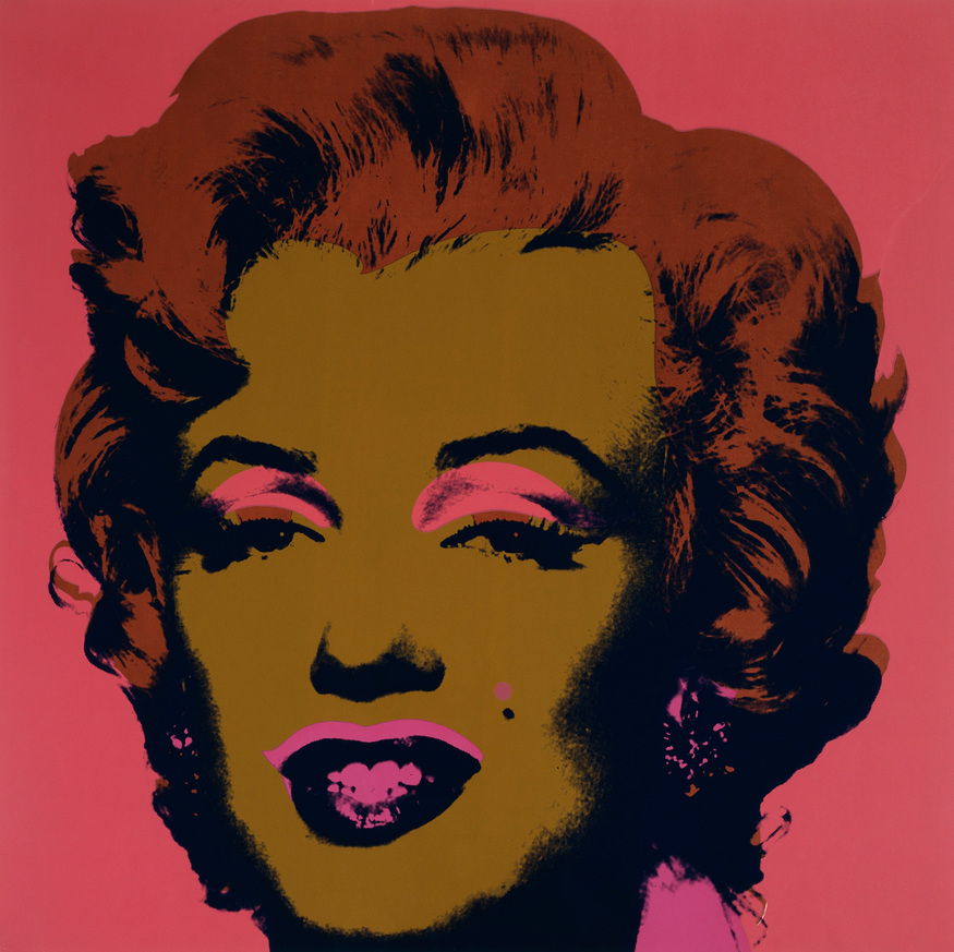 Andy Warhol, Marilyn. Image © The Andy Warhol Foundation for the Visual Arts