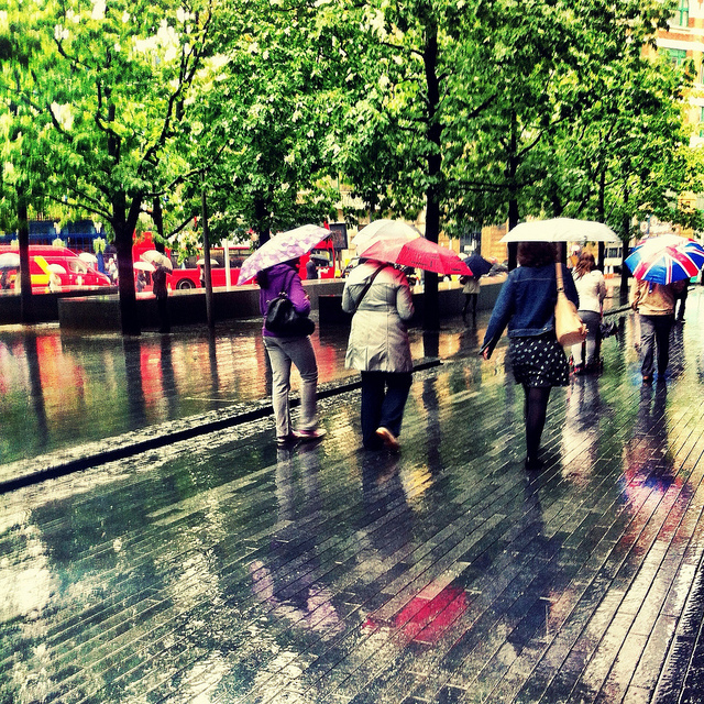 Rain, Tooley Street by Laurabot_