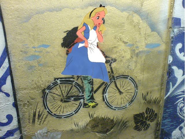 Alice In Wonderland Bike Tours, Anyone?