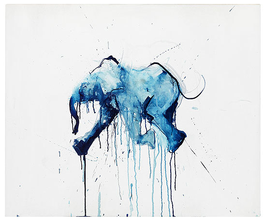 Baby Elephant by Dave White. Courtesy Art Republic.