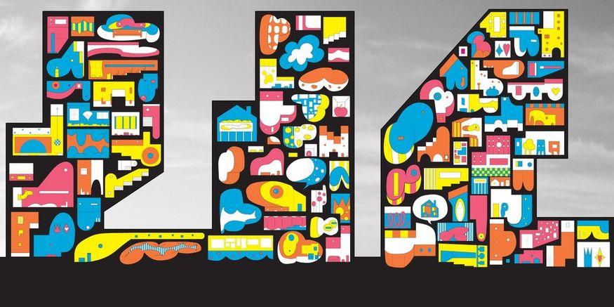 Cartoonish Metropolis, Courtesy Jimenez Lai