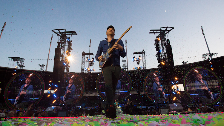 Gig Review: Coldplay @ Emirates Stadium