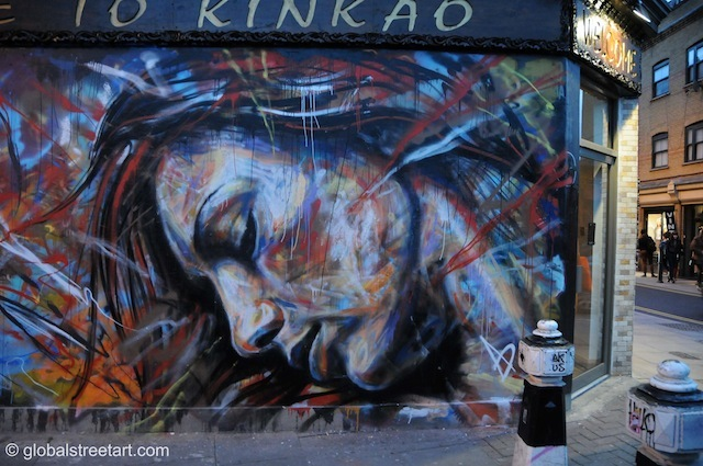 David Walker off Brick Lane.