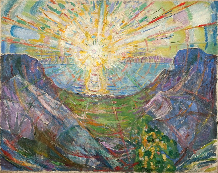 Edvard Munch, The Sun. © Munch Museum/Munch-EllingsendGroup/DACS 2012