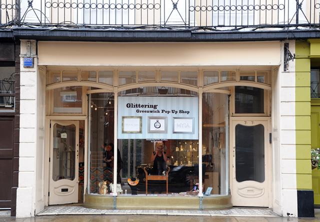 The Glittering Greenwich Pop-Up Shop