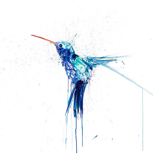 Humming Bird II by Dave White. Courtesy Art Republic.
