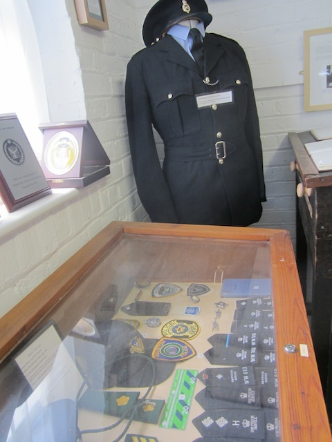 Prison uniforms and epaulettes.