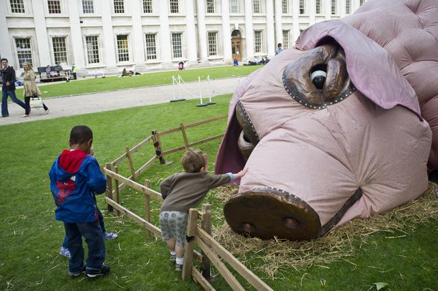 The Pig at Greenwich Fair