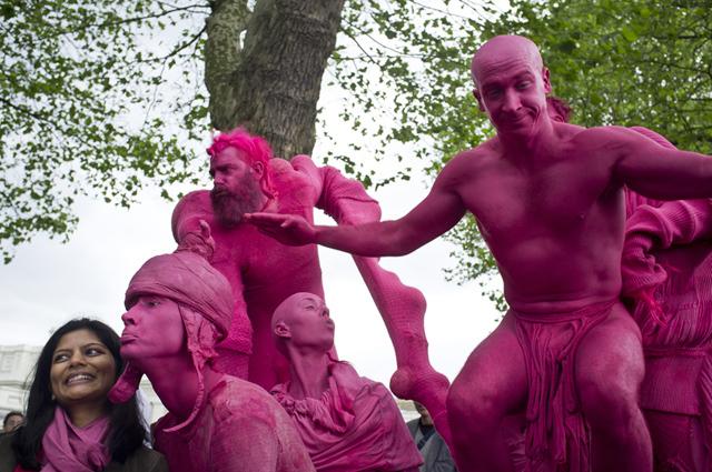 The invasion at Greenwich Fair