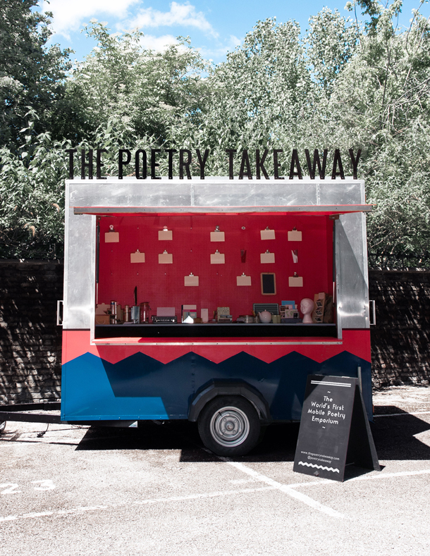 Poetry Takeaway Opens Today