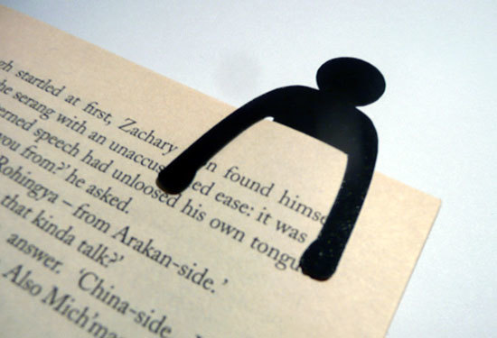 Little Man Bookmark