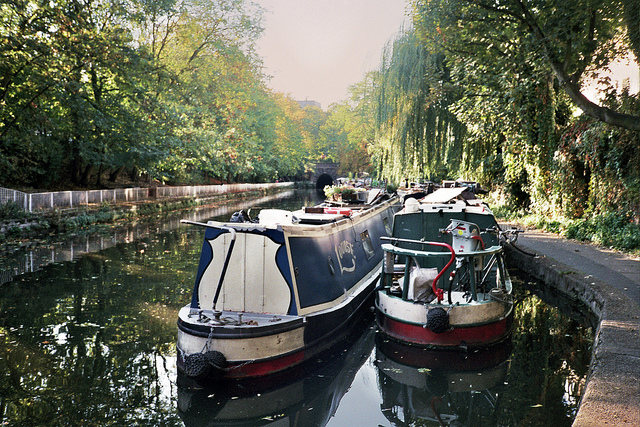 Peace and quiet on the Regent's Canal, by thomas100