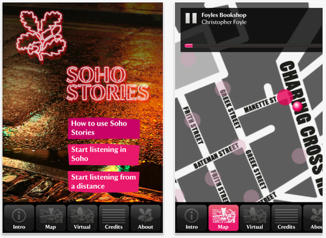 App Review: Soho Stories