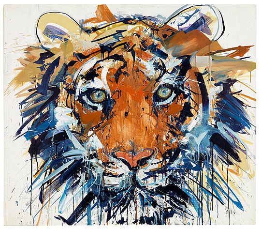 Tiger by Dave White. Courtesy Art Republic.