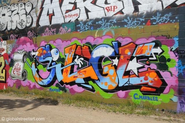 Unknown artist near Trellick Tower.