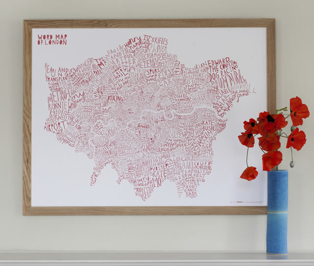 World Map of London