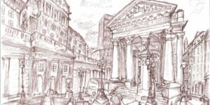 The London Sketchbook Challenge Exhibition @ Foyles