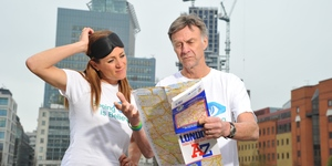 Celebs To Run Around London Blindfolded For Charity