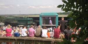 In Pictures: A Spectator's View Of Wimbledon 2012