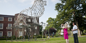 Haringey PARK ART Sculpture Project Launches At Bruce Castle