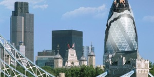 London Zoo Wants To Turn The Gherkin Into A Giant Penguin