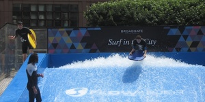 Surfing Returns To Broadgate