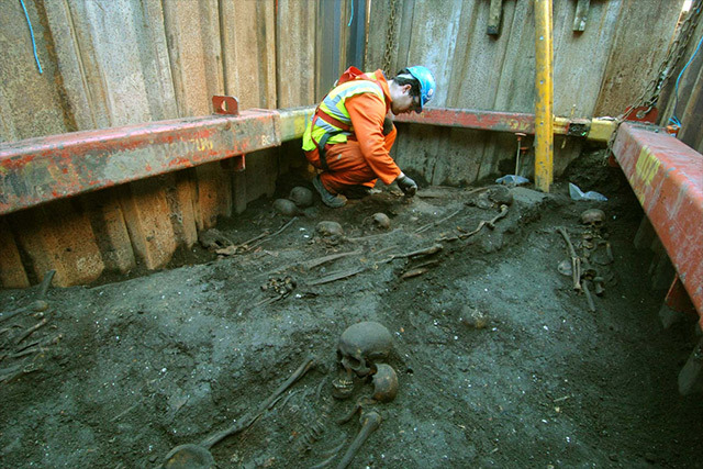 Crossrail Archaeological Discoveries Go On Display