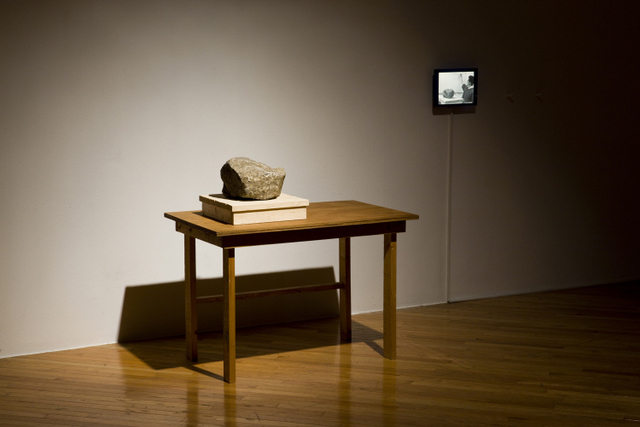Installation view at Artsonje Center of 'A Rock That Learned the Poetry of JUNG Jiyong'. Courtesy of the artist, Artsonje Center, Seoul.and Maeil Dairies Co. Ltd. © The artist 2012. Photo: Park Myung Rae.