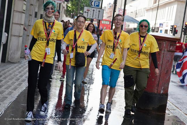 Pride Stewards by Joel Rowbottom