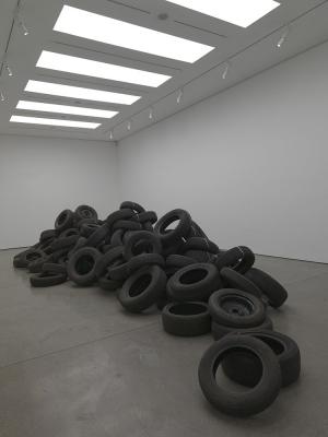 Damian Ortega, Congo River. Courtesy White Cube gallery.