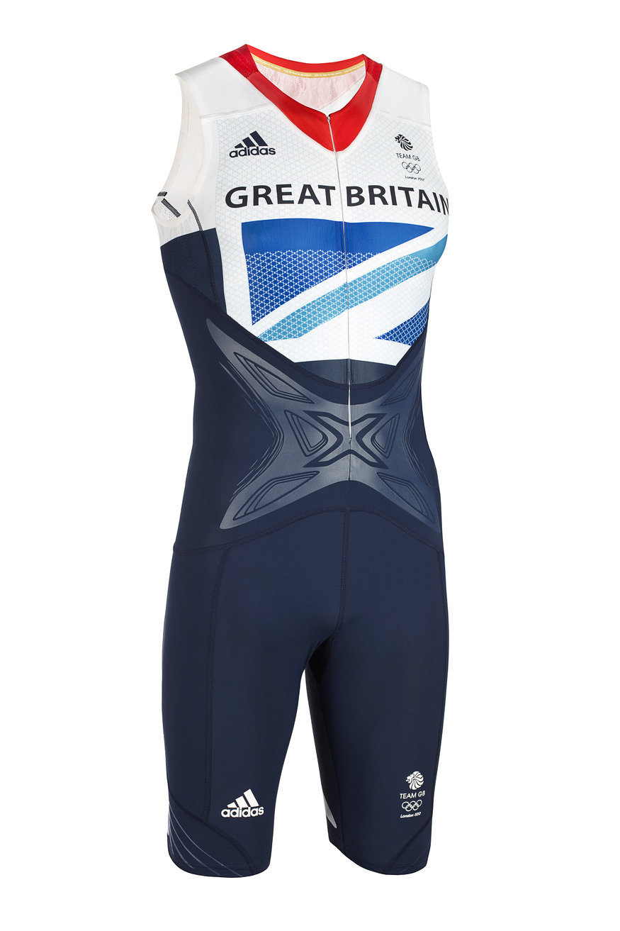 Adidas Team GB Powerweb Sprint Suit, designed by Stella McCartney. Courtesy Design Museum.
