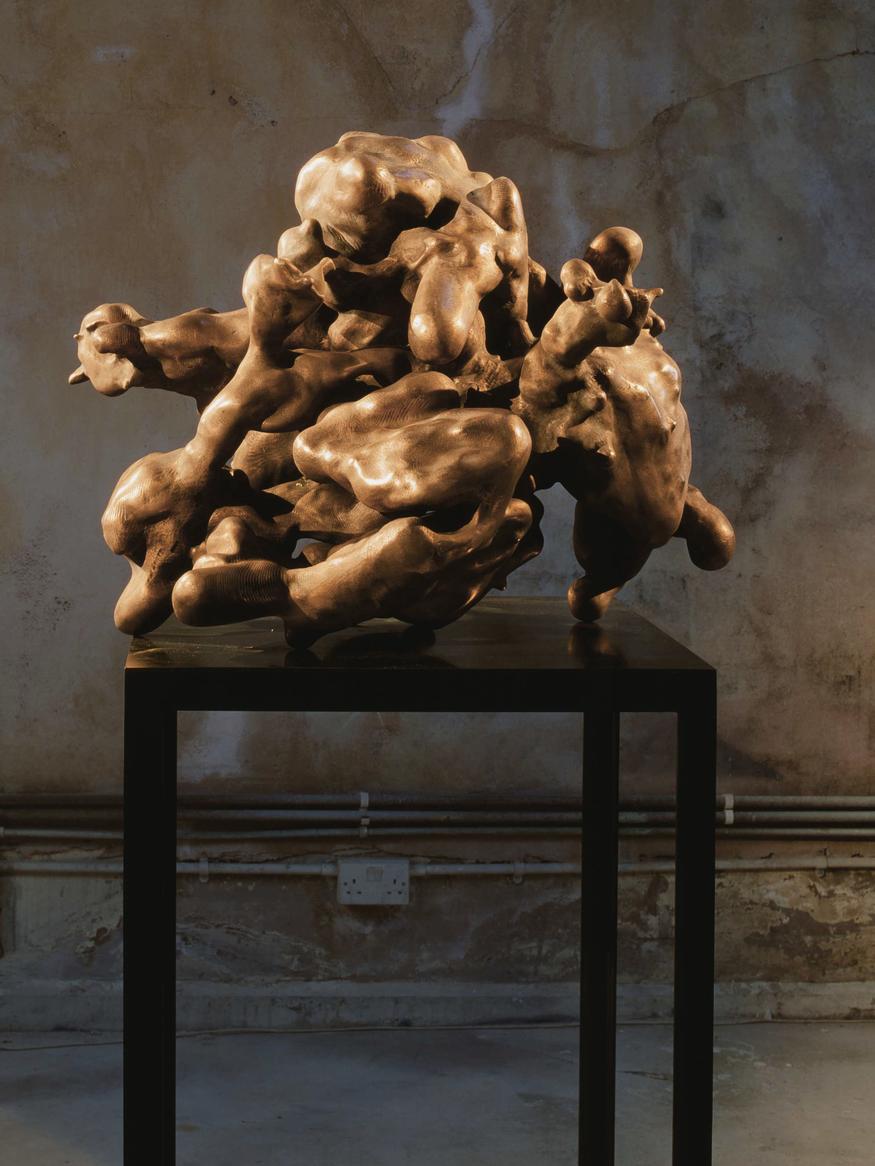 Alex Hoda, Breathcrystal. Courtesy of the artist and the Shizaru Gallery
