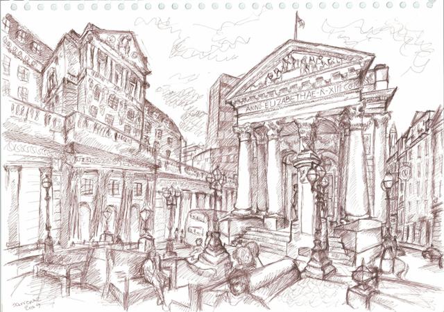 Bank by Sarvenaz Keihani.