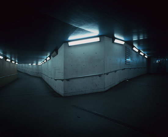 Bend in Pedestrian Tunnel (SE1), William Eckersley. Courtesy Vegas Gallery.