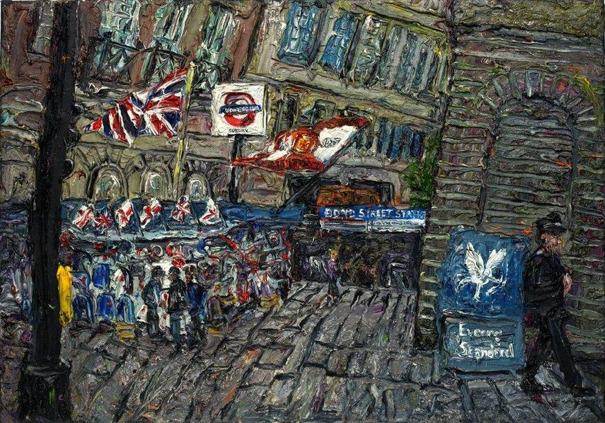 Ross Ashmore, Bond Street. Courtesy Panter & Hall